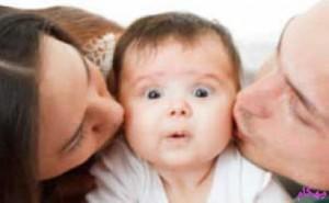 بوسه و فواید آن برای مادر و فرزند