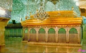 تربت امام حسين(ع) در دست پيامبر (ص )
