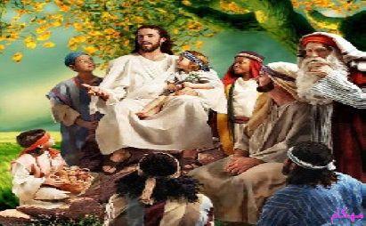 عکس حضرت عیسی (ع) و كربلای امام حسین(ع)