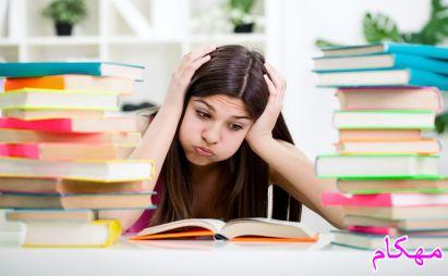 درس خواندن با تمرکز فکر و بدون حواسپرتی - مهارت های تحصیلی