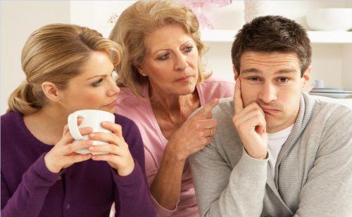 قضاوتهای سوگیری شده در خانواده همسر