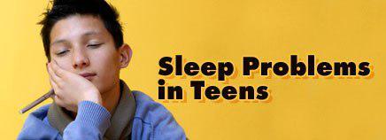 مشکلات خواب نوجوانان