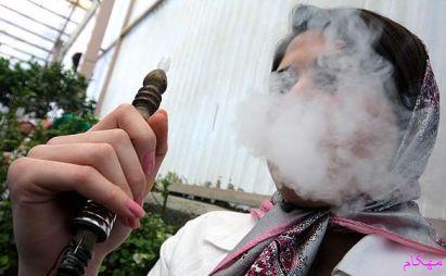 مهکام-مصرف قلیان و سیگار یکی از آسیب های اجتماعی در دختران