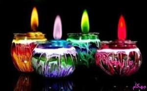 مهکام-داستان کوتاه-چهار شمع روشن-کریسمس