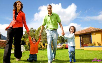 7 راه حل داشتن خانواده شاد و بچه های خوشحال