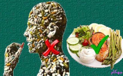 ۱۲ پیشنهاد برای لاغر شدن بدون دارو
