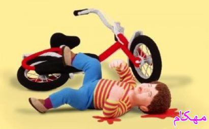 پیشگیری از آسیب های دوچرخه سواری کودکان-www.mehcom.com