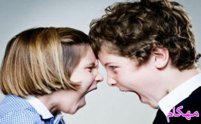 چگونه دعوای خواهر و برادر را کنترل کنیم ؟-www.mehcom.com