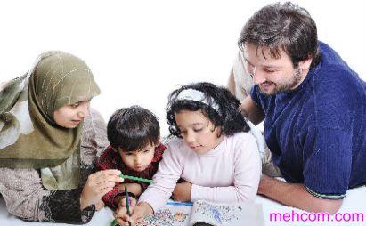 3 محور اصلی فرزندپروری اسلامی-www.mehcom.com
