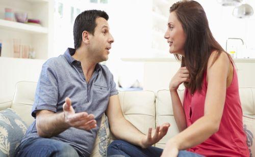 بیان مشکلات به همسر