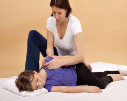 ماساژ درمانی کودکان اوتیسمی