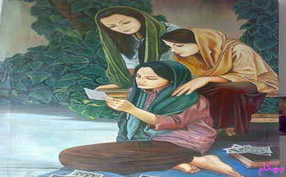 غزل : عکس یار-سروده غزلسرای ایرانی استاد داود احمدی – باقی