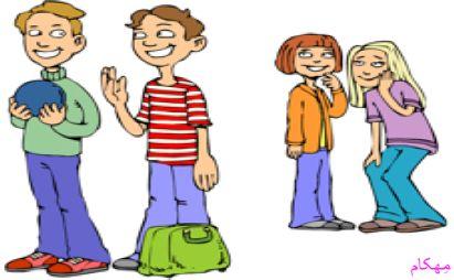 بلوغ و ارتباط نوجوان با همسالان-فرزندپروری