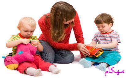 چرا فرزندم اسباب بازی هایش را به بچه های دیگر نمی دهد ؟