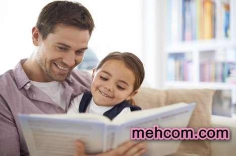خواندن کتاب برای کودکان