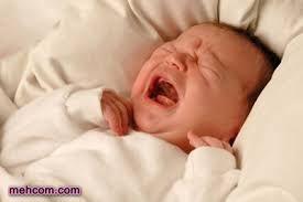علت بیقراری نوزاد
