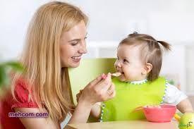 رفتاروالدین در غذا خوردن کودک