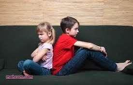 دعوای خواهر برادری بچه ها