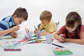 آموزش رنگ آمیزی به کودک