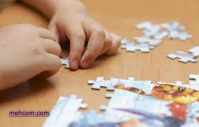 حل پازل برای کودک