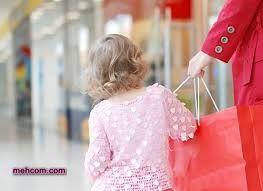 بهانه گیری کودک هنگام خرید