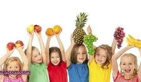تغذیه مناسب برای کودکان و بالغین
