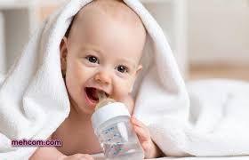دادن شیرگاو به نوزاد