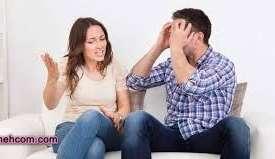 مشاجره کردن با همسر در خانواده