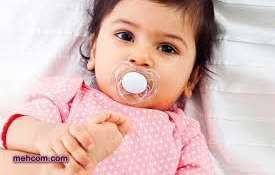 ترک عادت پستانک در کودک