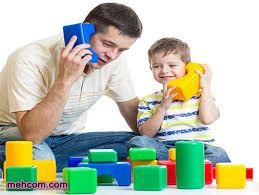 علاقه کودکان به والدین