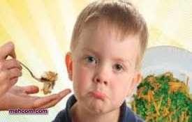 چرا فرزندم غذا نمی خورد