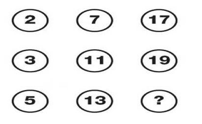 معمای ریاضی-تست هوش اعداد ساده-تست هوش ریاضی